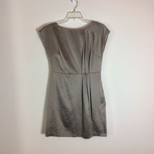 Mossimo grey satin dress